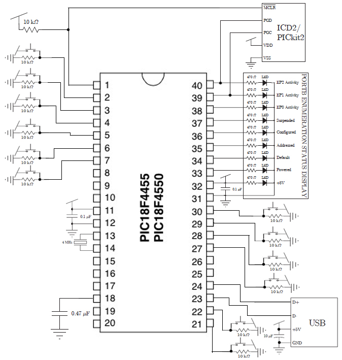 keyboard circuit diagram